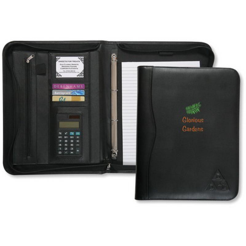 Image of Houghton A4 Ring Binder with Calculator