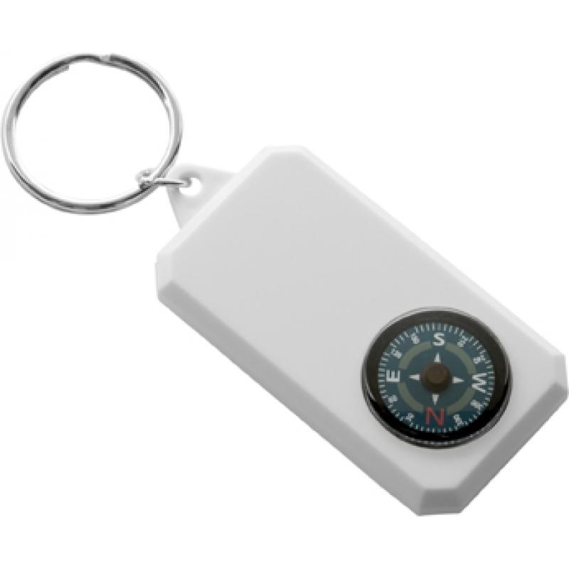 Image of Plastic key holder, compass