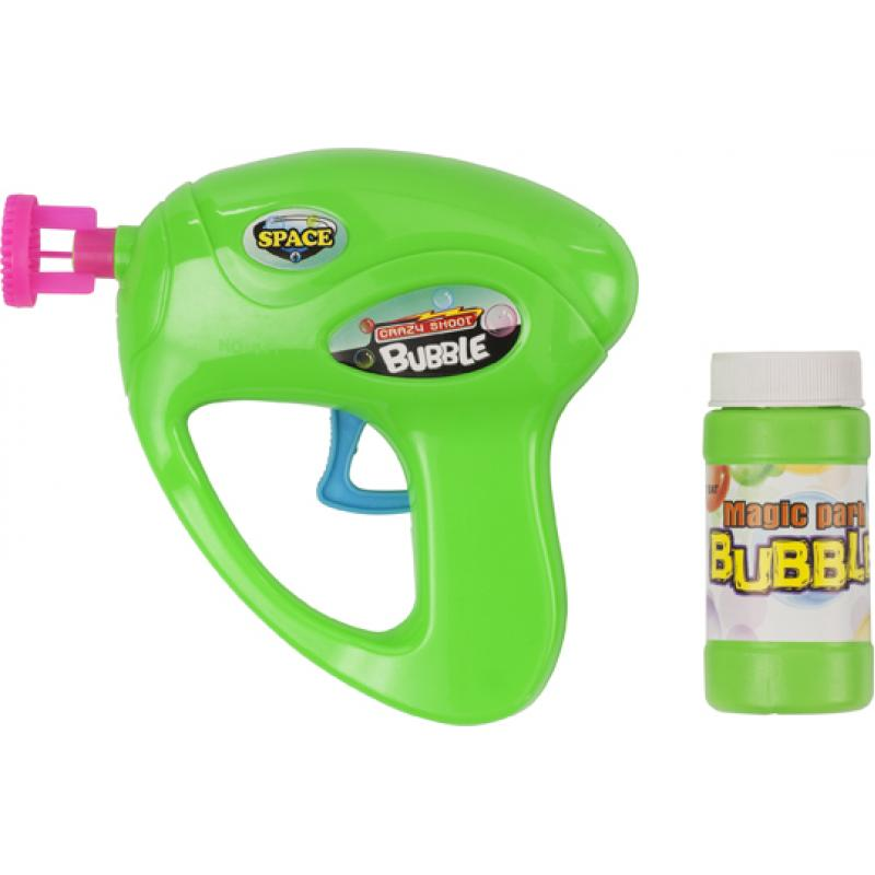 Image of Bubble gun with fluid