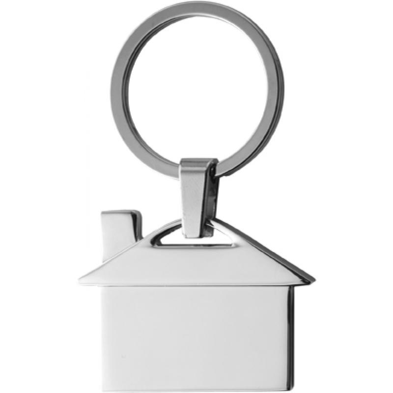 Image of Metal, key holder, model 'house'.