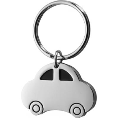 Image of Metal, key holder, model 'car'.