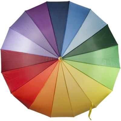 Image of Manual polyester umbrella