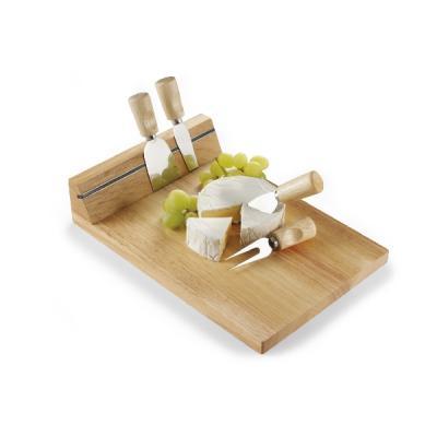 Image of Wooden cheese board
