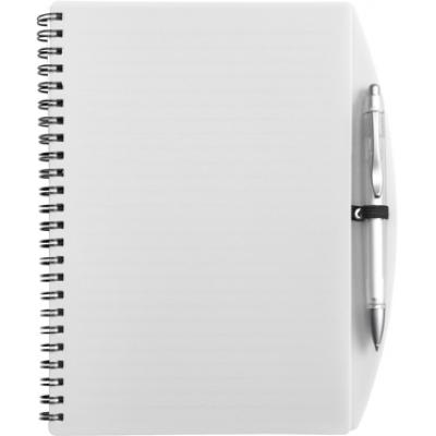 Image of A5 Wire bound notebook and ballpen