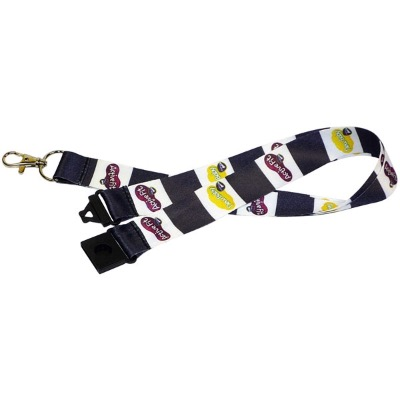 Image of 15mm Dye Sublimated Polyester Lanyard
