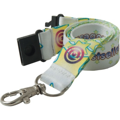 Image of 20mm Dye Sublimated Polyester Lanyard