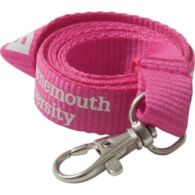 Image of 20mm Flat Polyester Lanyard