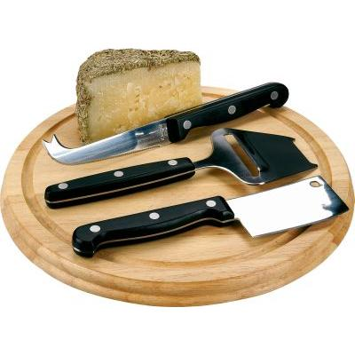 Image of 4 piece cheese gift set