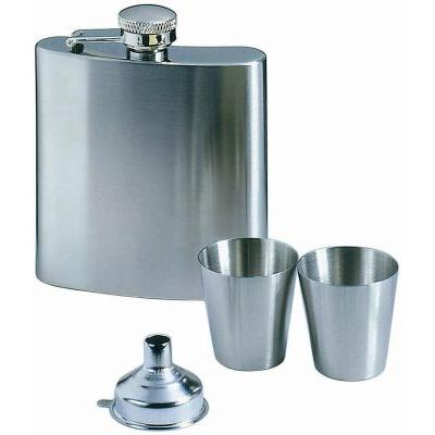 Image of Texas hip flask with cups