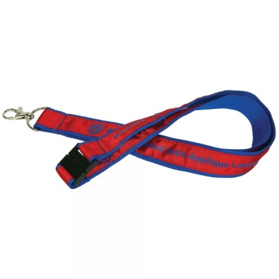 Image of 20mm Woven Applique Lanyard