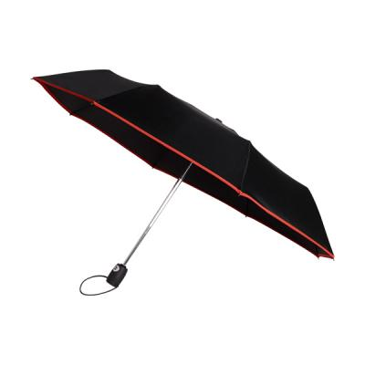 Image of Automatic pongee (190T) foldable umbrella