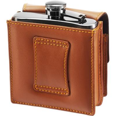 Image of Stainless steel hip flask (175ml)