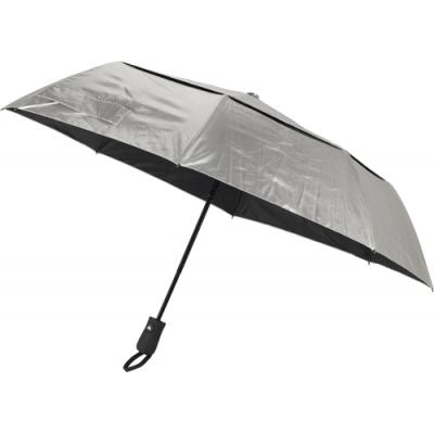 Image of Foldable automatic polyester (190T) umbrella