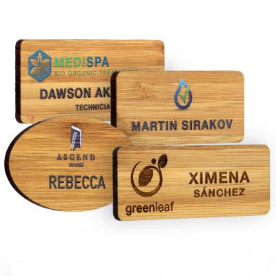 Image of Bamboo Name Badges