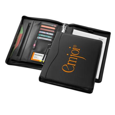 Image of Ebony A4 Briefcase Folio
