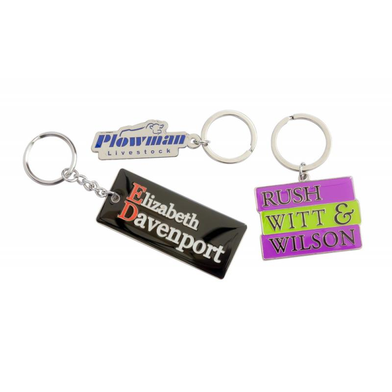 Image of Soft Enamel Metal Keyring
