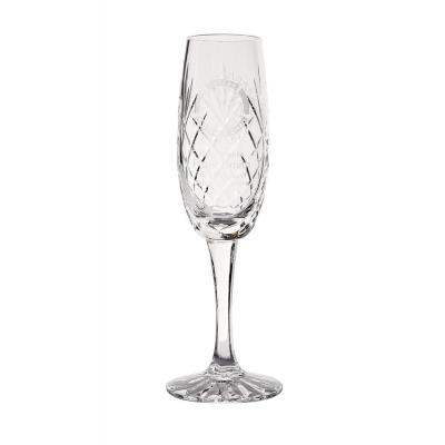 Image of 165ml Glencoe Lead Crystal Panel Champagne Flute